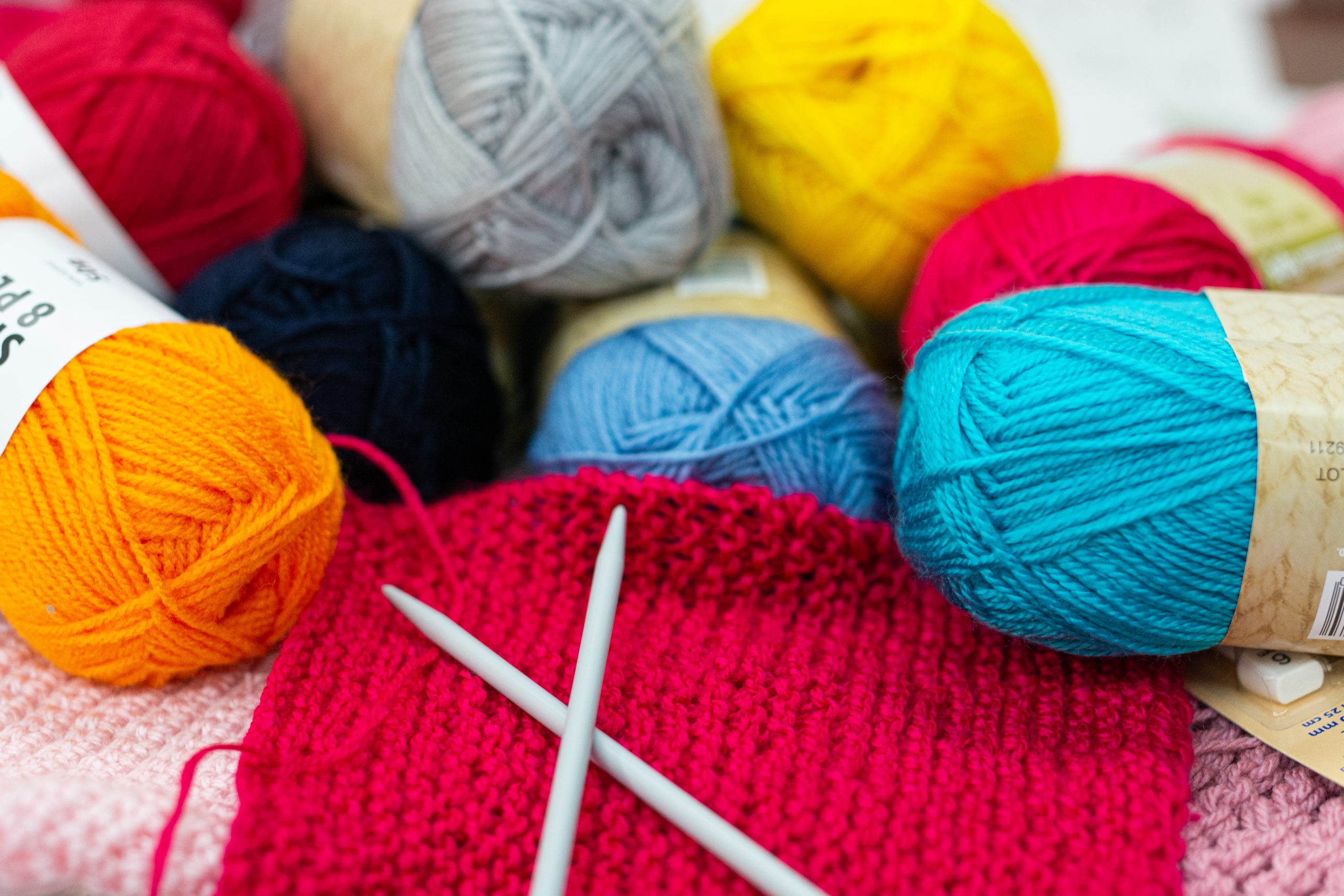 Knitting and/or Crocheting For Community Blanket/s